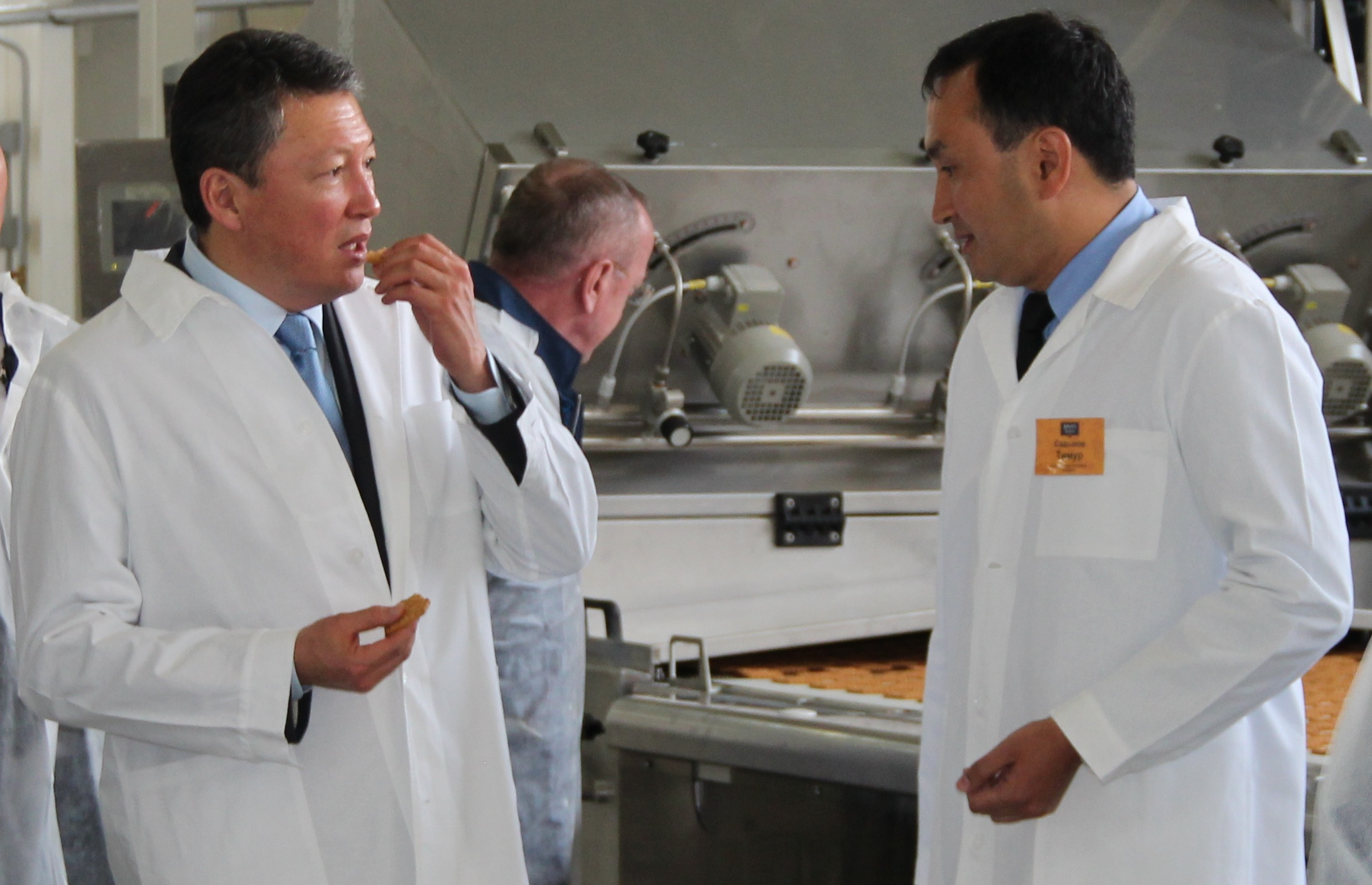 "During the working visit of Kostanay, the Chairman of Presidium of ""Atameken"" National Chamber of Entrepreneurs of Kazakhstan, Timur Kulibayev together with the head of the region Arkhimed Mukhambetov visited ""Bayan Sulu"" JSC"